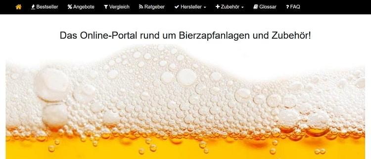 Bierzapfanlage.net - das Online-Magazin für Bierzapfanlagen
